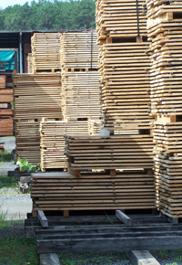 Importance of Slow & Steady Air Drying for Lumber