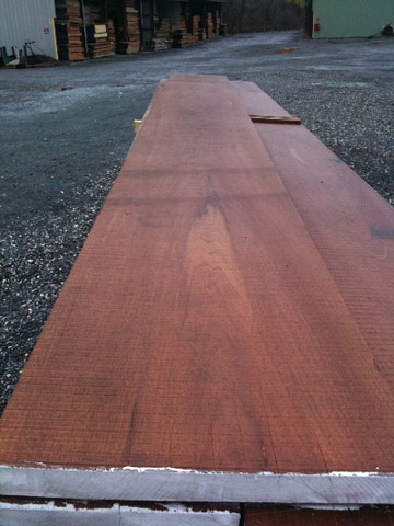 "25"" Wide Spanish Cedar board"