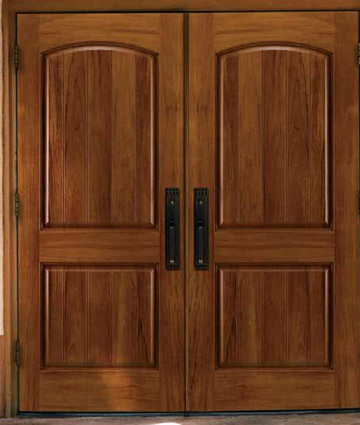 Spanish Cedar entry doors