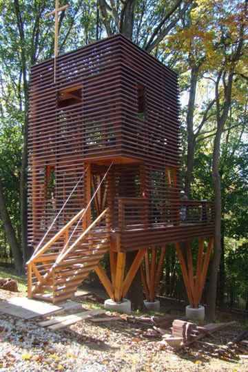 Spanish Cedar treehouse