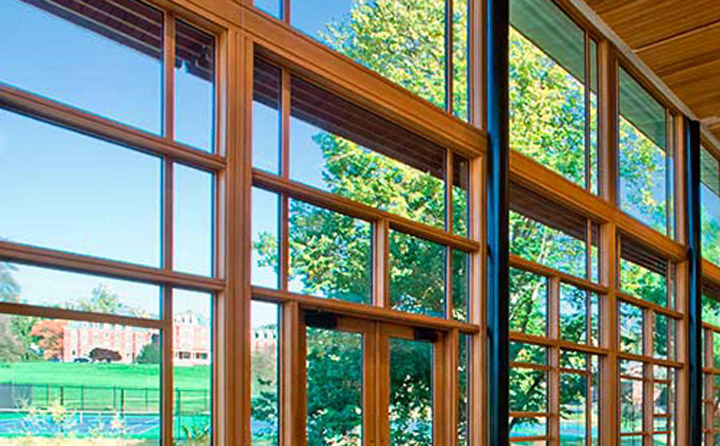 Spanish Cedar windows