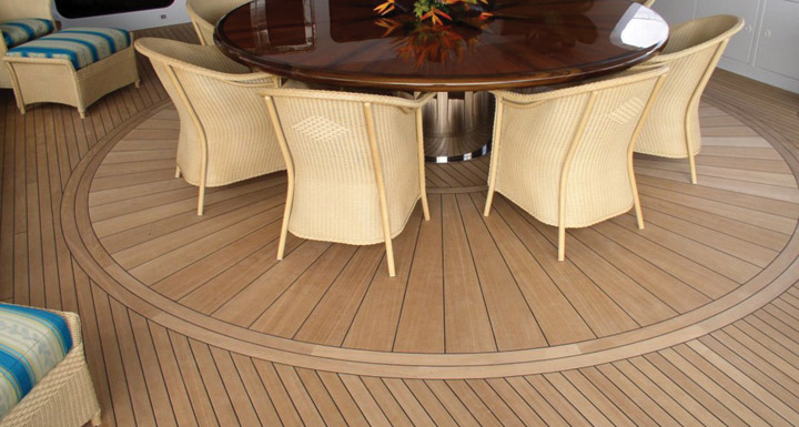 teak boat decking